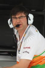 Bradley Joyce, Sahara Force India F1 Race Engineer