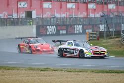 #37 All-Inkl.com Mannich Motorsport Mercedes-Benz SLS AMG GT3: Nicky Pastorelli, Thomas Jäger