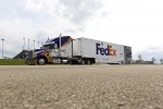 Denny Hamlin's hauler