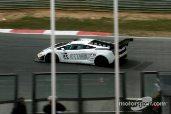 #25 Reiter Engineering Lamborghini Gallardo LP 560-4: Darryl O'Young, Peter Kox