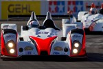 #8 Merchant Services Racing Oreca FLM09: Kyle Marcelli, Antonio Downs