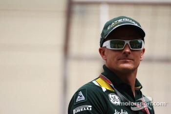 Heikki Kovalainen, Caterham on the drivers parade