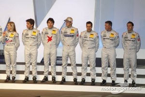 All 2012 Mercedes drivers
