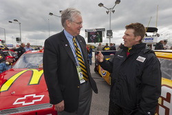Missouri Governor Jay Nixon and Jamie McMurray