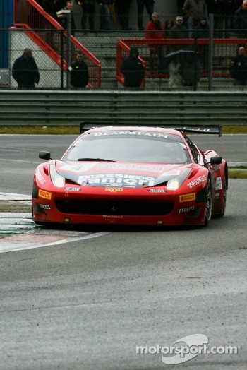 #4 AF Corse Ferrari 458 Italia: Francesco Castellacci, Enzo Ide