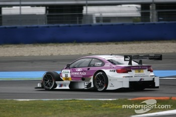Andy Priaulx, BMW Team RBM BMW M3 DTM without hood