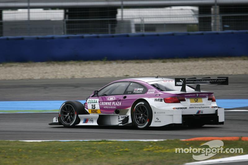 Andy Priaulx, BMW Team RBM BMW, M3 DTM, ohne Motorhaube