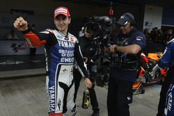 Pole winner Jorge Lorenzo, Yamaha Factory Team