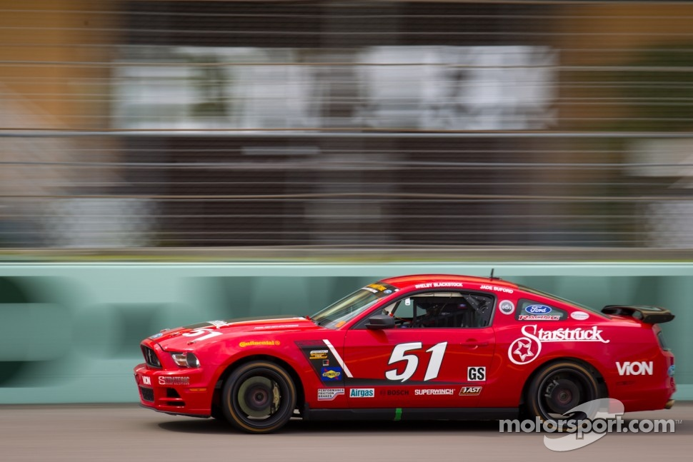 #51 Roush Performance Mustang Boss 302R: Shelby Blackstock, Jade Buford