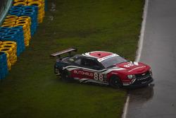 #88 Autohaus Motorsports Camaro GT.R: Paul Edwards, Jordan Taylor spins