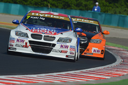 Charles Ng, BMW 320 TC, Liqui Moly Team Engstler and Gabor Weber, BMW 320 TC, Zengo Motorsport