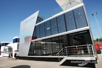 Mercedes AMG F1 motorhome