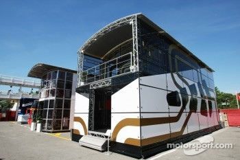 Hispania Racing F1 Team, motorhome
