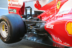 Ferrari exhaust and rear suspension detail