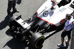 Sauber of Kamui Kobayashi, Sauber
