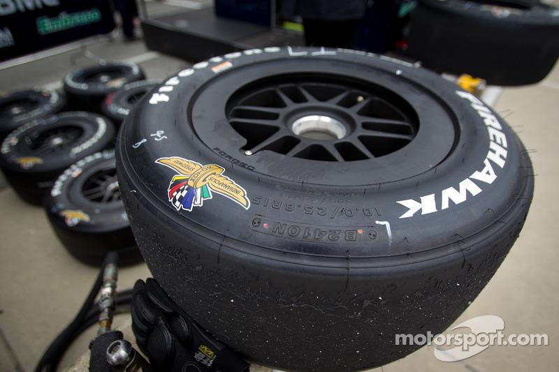 Firestone Firehawk tire