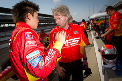 Fastest driver of the day Sebastian Saavedra, AFS Racing/Andretti Autosport Chevrolet