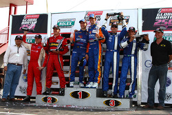 DP Podium -#10  SunTrust Ricky Taylor, Max Angelelli - 2nd #8 StarWorks Ryan Dalziel, Enzo Potolicchio - 3rd #60 Michael Shank Racing John Pew, Oz Negri