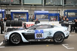 #006 Young Driver AMR Aston Martin Vantage GT3: Stefan Mücke, Tomas Enge, Oliver Mathai, Fredy Barth