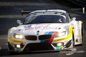 BMW Z4 GT3:  Dirk Müller in a BMW Z4 GT in 2012