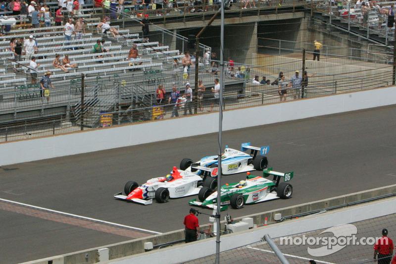 Emerson Newton-John, Belardi Auto Racing, M.V. Horto, Juncos Racing and Esteban Buerrieri, Sam Schmidt Motorsports