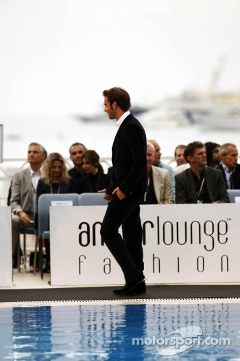 Jean-Eric Vergne, Scuderia Toro Rosso at the Amber Lounge Fashion Show