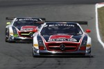#38 All-Inkl.com Mnnich Motorsport Mercedes-Benz SLS AMG GT3: Markus Winkelhock, Marc Basseng