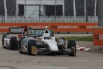 Ed Carpenter, Ed Carpenter Racing Chevrolet and J.R. Hildebrand, Panther Racing Chevrolet