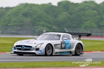 #90 Preci-Spark Mercedes-Benz SLS AMG GT3: David Jones, Godfrey Jones, Mike Jordan