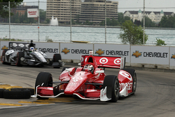 Scott Dixon, Target Chip Ganassi Honda and Dario Franchitti, Target Chip Ganassi Honda