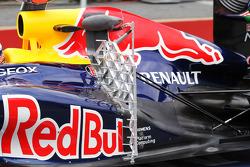 Sebastian Vettel, Red Bull Racing with sensor equipment