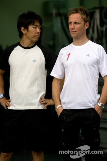 Masataka Yanagida and Ronnie Quintarelli