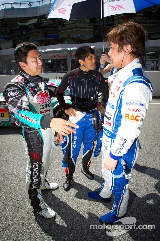 Tatsuya Kataoka, Tetsuya Yamano and Morio Nitta