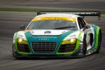 #99 Hitotsuyama Racing Audi R8 LMS: Frank Yu, Hideto Yasuoka