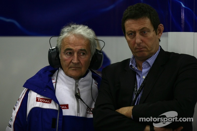 Hugues de Chaunac, Team Principal Oreca and Gérard Neveu, President of FIA WEC
