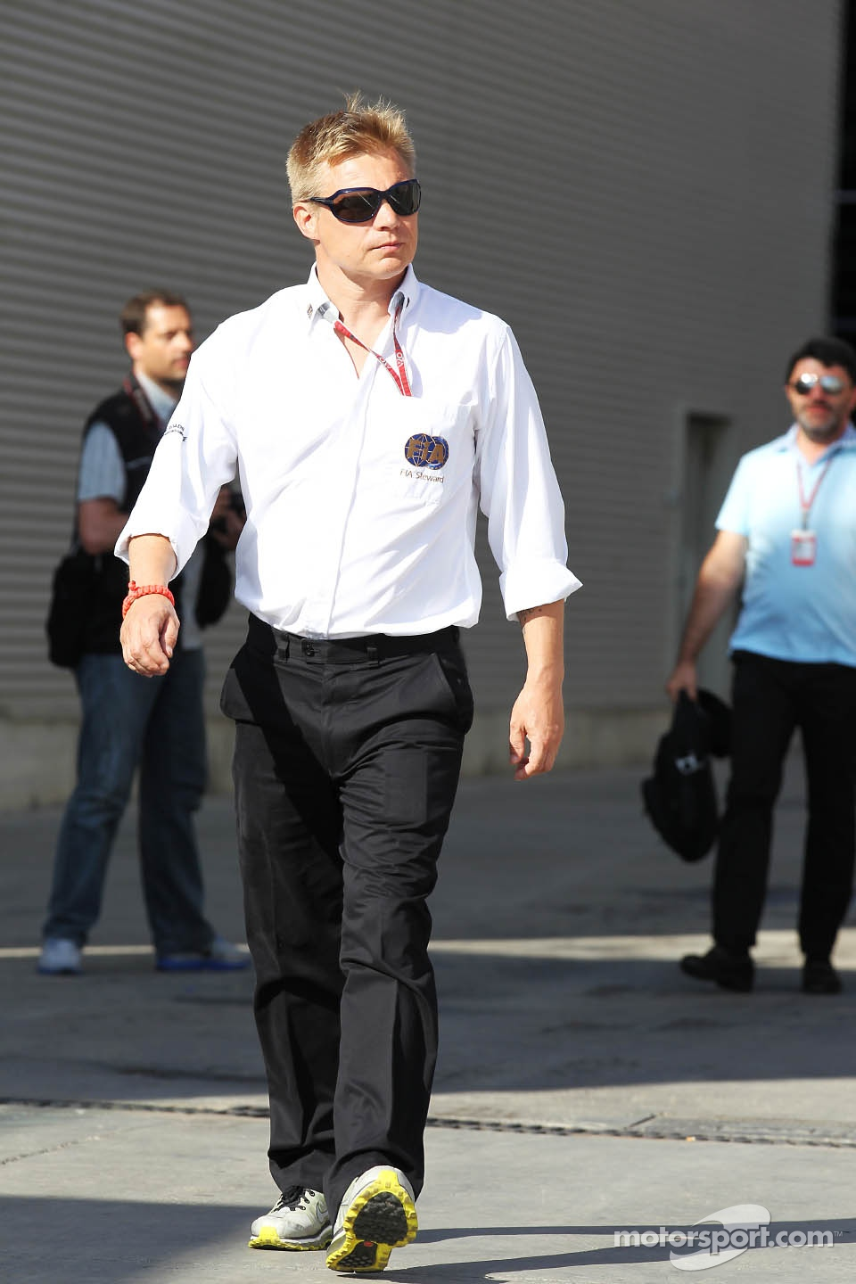 Mika Salo, FIA Steward