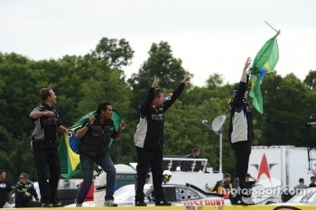 Turner Motorsports celebrates Nelson Piquet Jr.'s win