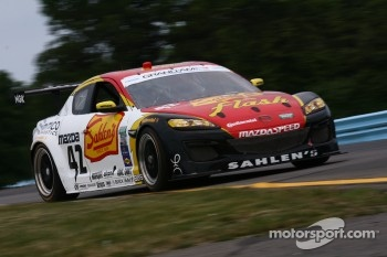 #42 Team Sahlen TheRaceSite.Com Mazda RX-8: Dane Cameron, Wayne Nonnamaker 