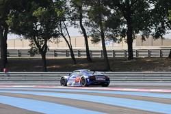 #41 Sainteloc Racing Audi R8 LMS: Philippe Marie, Robert Hissom, Pierre Hirschi
