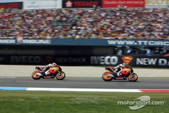 Dani Pedrosa, Repsol Honda Team and Casey Stoner, Repsol Honda Team