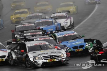 Start, Jamie Green, BMW Team RBM BMW M3 DTM