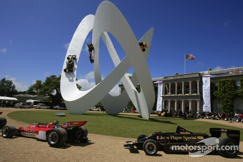 The Goodwood display