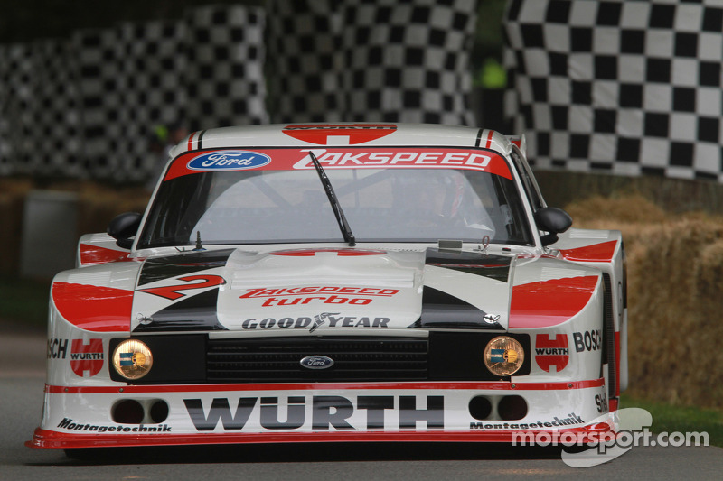 Classic Ford touring car