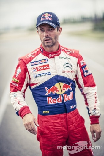 Sbastien Loeb tests the specially designed Citron DS3 for the X-Games