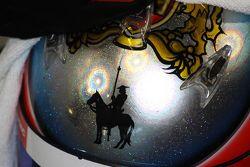 Felix Serralles' helmet detail