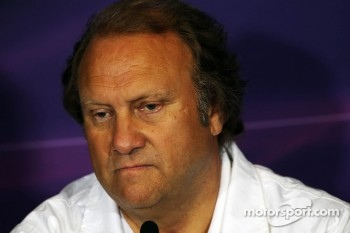 Bob Fernley, Sahara Force India F1 Team Deputy Team Principal in the FIA Press Conference