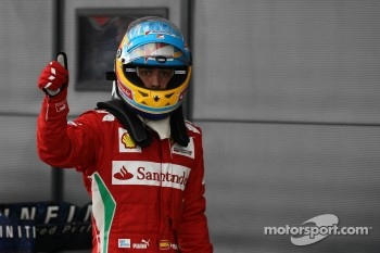 pole position for Fernando Alonso, Scuderia Ferrari