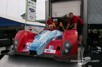 #9 RSR Racing Oreca FLM09 Chevrolet: Bruno Junqueira, Tomy Drissi 