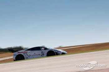 #24 Blancpain-Reiter Lamborghini Gallardo LP600+: Marc Hayek, Peter Kox