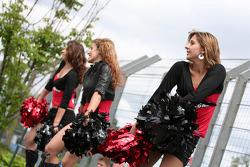 The Racecar grid girls